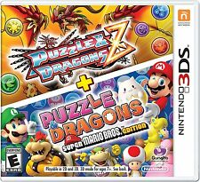 New Puzzle & Dragons Z + Puzzle & Dragons Super Mario Bros. Edition Nintendo 3DS