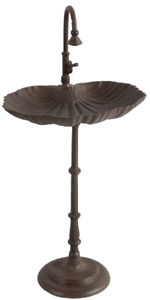 Cast Iron Bird Bath Faucet and Sink Design