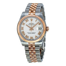 Rolex Datejust Automatic Stainless Steel and 18kt Rose Gold Ladies Watch