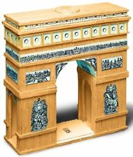Match Craft Arc De Triomphe Matchstick Kit includes Safety Cutter - Paris Icon