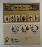 2012 ROYAL MAIL CHARLES DICKENS PRESENTATION FOLDER & FDC LOT 401*