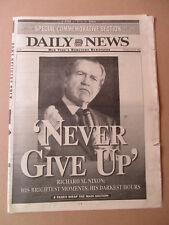 RICHARD NIXON TRIBUTE NEW YORK DAILY NEWS NEWSPAPER 4/24/1994 SPECIAL SECTION