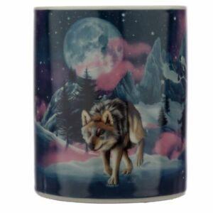 Protector Of The North Wolf Porcelain Mug Tea Coffee Mug Gift Boxed