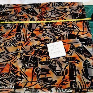 "Fabric Destash Lt 122 is 48"" x 44"" Cotton Blend Fabric Hoffman California fabric"