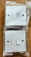 BG Nexus 950 13A Fused Connection Unit Switched, pack of 2