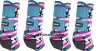 Classic Equine Fiesta LEGACY 2 SYSTEM Front & Hind Value Pack Sport Boots M