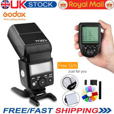 UK Godox Tt350f 2.4g TTL HSS Camera Flash & Wireless Xpro-f Trigger for Fujifilm