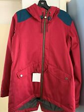 Bonfire  Womens Snowboarding Skiing Snow Jacket Red Size M
