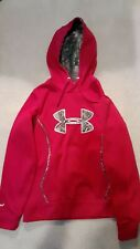 Under Armour Red/Camo Hoodie Mens Size Small - Very Good Condition!
