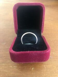 9CT Solid Gold Plain Domed Ring - I do not sell to International Buyers