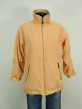 WELLENSTEYN FLEECE JACKE GR S / ORANGE & MODEL: JET JACKE    ( L 8612 )