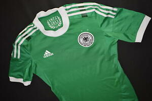 Adidas Deutschland Trikot Jersey DFB Shirt Maglia Camiseta Grün 2010 Techfit 7 L
