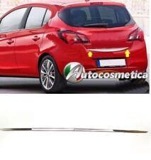 Striscia acciaio cromo cromata portellone SPECIFICA Opel Corsa E  Baule Profilo