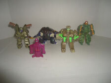 Bandai Rock Lords GOBOTS Lot of 4 - 1986 - Vintage Action Transformer Figures