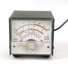 External S meter/SWR/Power Meter display meter For Yaesu FT-857/FT-897 white