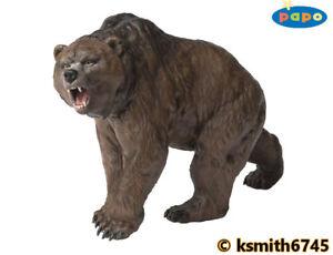 Papo CAVE BEAR solid plastic toy figure  Prehistoric wild animal * NEW *💥