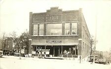 1920 Real Photo Pc; Farrell & Keefe Farm Equipment Store Bldg, North Redwood Mn