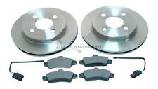 FORD MONDEO ST24 2.5 V6 1995-2000 MINTEX REAR 2 BRAKE DISCS AND PADS SET NEW