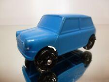 VINYL PLASTO FINLAND 1901 BMC MINI COOPER  - BLUE L7.5cm - GOOD CONDITION