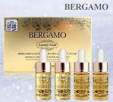 Bergamo Luxury Gold Collagen and Caviar Ampoule 4pc Set