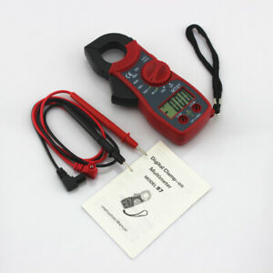 AC / DC courant numérique pince ampèremétrique tension ampèremètre OHM