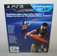 PlayStation 3 Move Volume 2 SEALED NEW Sony PS3 Demo Disc Little Big Planet 2