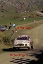 Kenneth Eriksson Mitsubishi Lancer Evo II Nueva Zelanda Rally 1994 fotografía 7