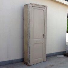 Porta Interna Con Telaio Epoca Inizi 900