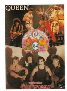Queen, The Works, Postcard.
