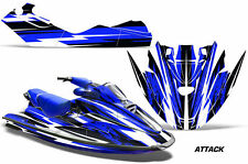 Jet Ski Graphics Kit Decal Sticker Wrap For Sea-Doo GTX RFI 1996-1999 ATTACK BLU