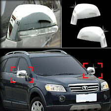 Chrome Side Rear View Mirror Molding Trim Cover for 06+ Chevrolet Captiva