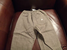 Pappa & Ciccia Boys Brown Pant (4 Yr.) MSRP:  $90.00