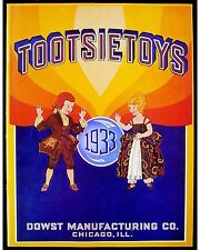 1933 TOOTSIETOY DIECAST TOY CATALOG, TOP QUALITY COLOR LITHO. NEW/OLD STOCK