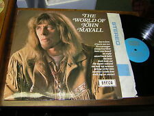John Mayall 60s ROCK BLUES LP World of 1970 UK ISSUE STEREO
