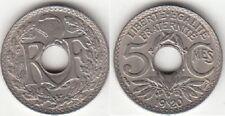 Monnaie Française 5 centimes Lindauer 1920 GM