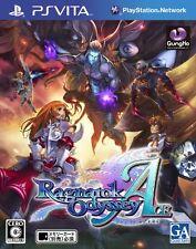 Used PS Vita Ragnarok Odyssey Ace  Japan Import