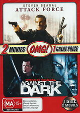 Attack Force / Against The Dark -  Action / Thriller - Steven Seagal - NEW DVD