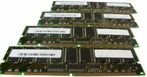 Hypertec 33L3258-HY 1GB DIMM PC133 IBM Equivalent Registered Memory Kit 7 Pack