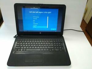 "HP 15-af131dx 15.6"" AMD A6-5200 APU @ 2.00GHz 4GB RAM 500GB HDD Pre-owned Works"