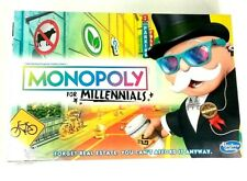 New Monopoly For Millennials Board Game Ages 8+ Factory Sealed