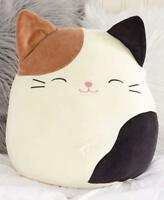 Squishmallow Cam Cat Stuffed Animal Soft Plush Gift Toy Boys Girls squishy 8""