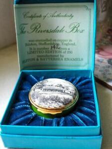 "Bilston & Battersea Ltd Ed 142/250 ""The Riversdale"" Box NSW Historic Buildings"