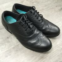 Hush Puppies Kada Kids Leather Lace Up School Shoes