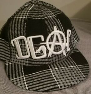 DGAF - Flannel Baseball Cap 7 1/4 Fitted Hat kottonmouth kings suburban noize