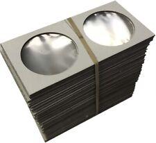 Large Dollar Size 2x2 Coin Cardboard Mylar Flips Holder Bundle of 100 Cowen's Us