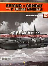 AVIONS DE COMBAT 52 WW2 MESSERSCHMITT Bf 110 D-3 RicHard HELLER Helmuth HAUGK