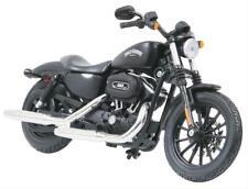 Maisto Harley Davidson 2014 Sportster Iron 883 Diecast Motorcycle 1:12 - Black