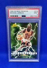 1995-96 SKYBOX PREMIUM MICHAEL JORDAN ELECTRIFIED #278 PSA 9 MINT BULLS