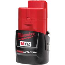 Milwaukee 48-11-2401 M12 12-Volt 1.4Ah REDLITHIUM Compact Ergonomic Battery