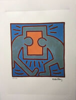 Keith Haring Lithographie Signée Et Numéroté
